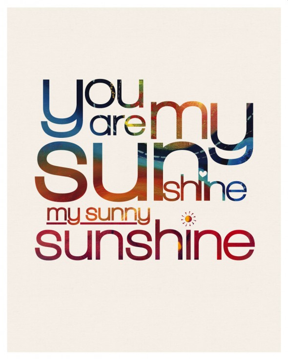 You are my Sunshine gift for Sunny